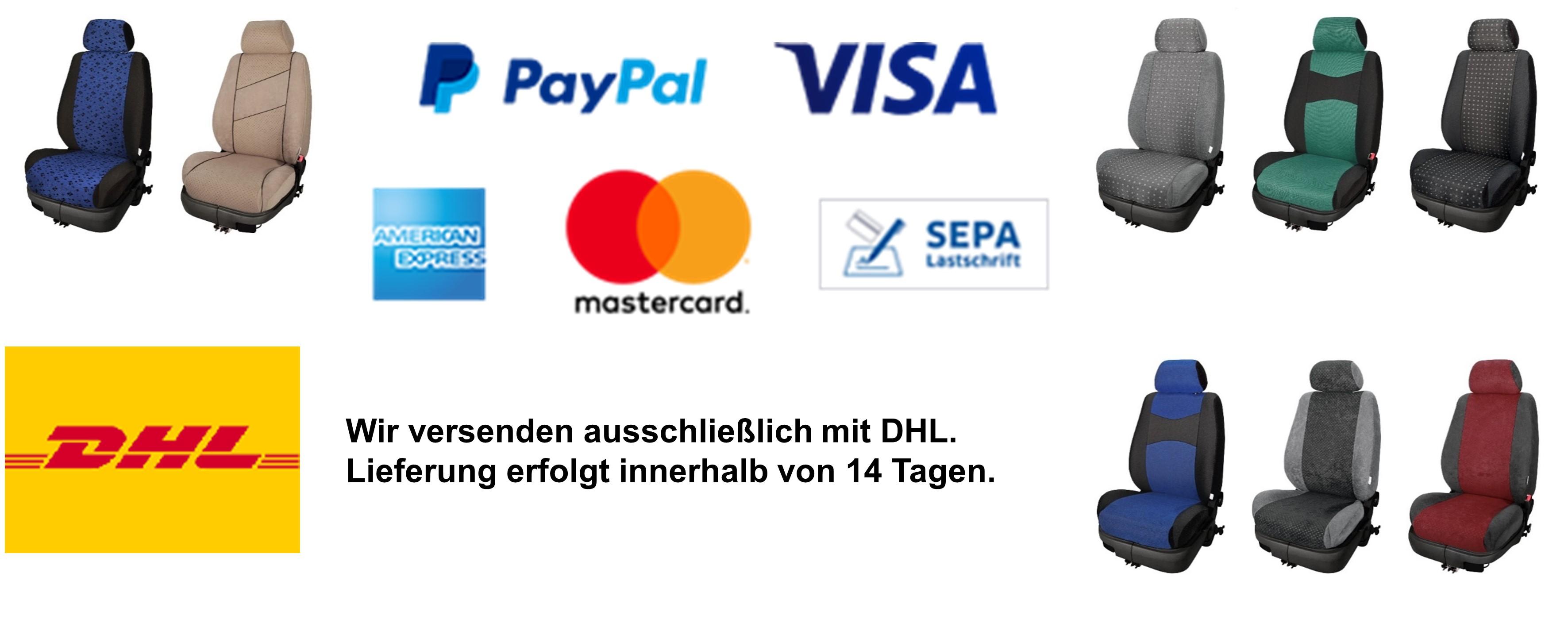 Zahlungsarten und Versand