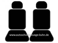 VW Touran - Set für Vordersitze (Torino schwarz)