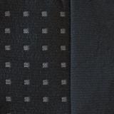 Stoffprobe Quattro schwarz