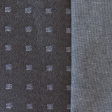Stoffprobe Quattro silber