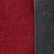 Stoffprobe Venezia rot-graphit