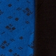 Stoffprobe Willy blau-schwarz